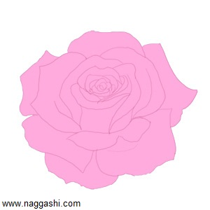 how-to-draw-a-rose-color