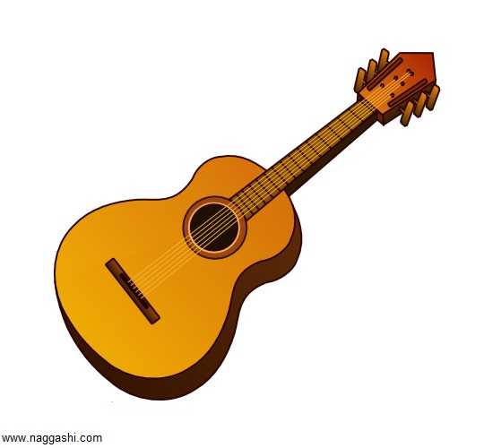 guitar-drawing