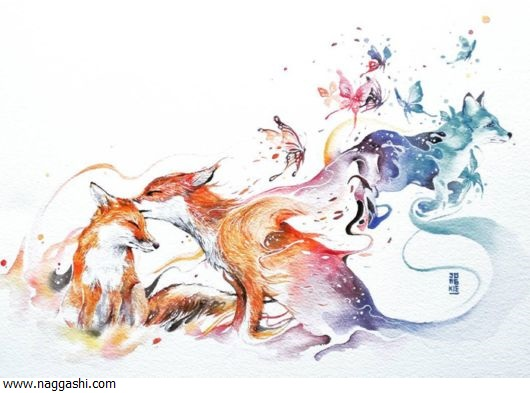 watercolor_animal_paintings_01www.naggashi.com